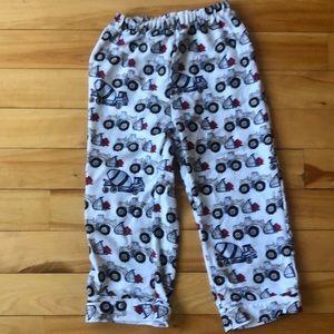 Pottery Barn Kids Tractor Pajama Pants